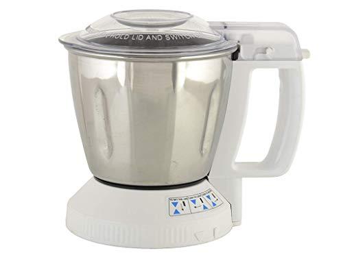 Panasonic 1100 ml Steel Mill Jar with Safety Lid Locking System MX-SM11...