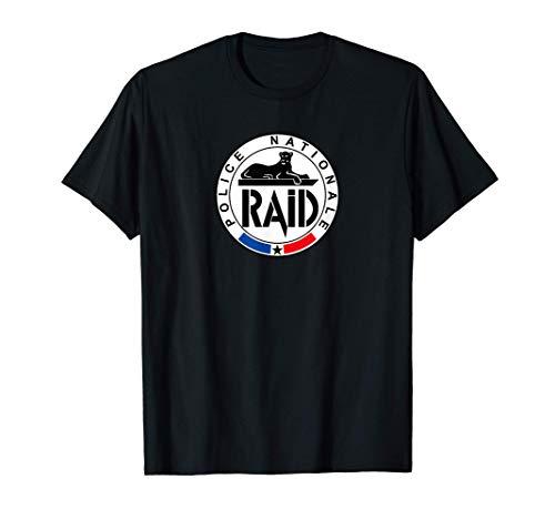 Policia Nacional Francesa RAID Camiseta
