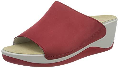 Berkemann Damen Saphira Pantoletten, Rot (Rot 234), 40 EU