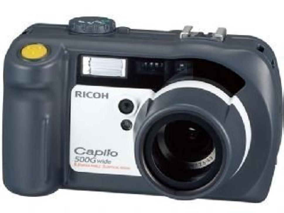 病んでいる外観吐き出すRICOH デジタルカメラ Caplio (キャプリオ) 500G Wide