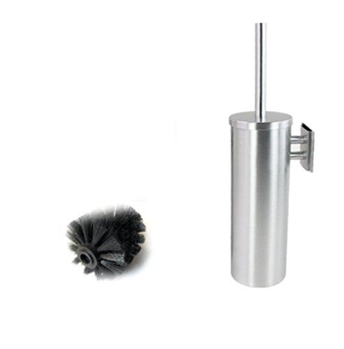 Yiyida Lot de brosse WC et support en acier inoxydable Long 10 cm x38 cm