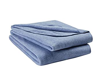 The Indie Quirk Value Bed Blanket Twin/Twin-XL Blue