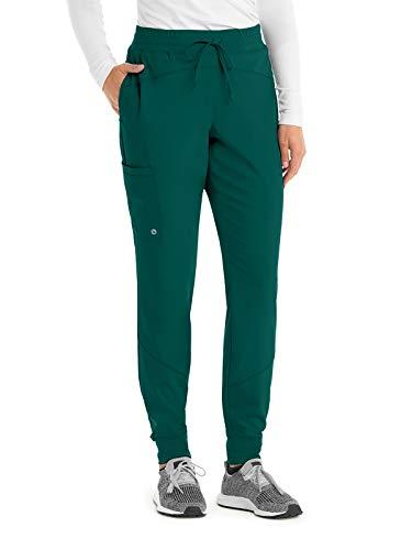 BARCO One BOP513 Women's Boost Jogger Scrub Pant Hunter Green 4XL