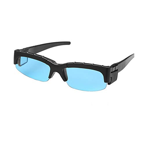 MELLOW Spy Glasses Mirror Vision Rear View Spy Sunglasses Look Like Ordinary Glasses but Have a Mirror on Side Ends to See Behind You - Novelty Toy Goggles for Spying on Followers