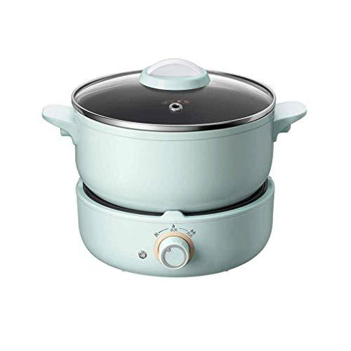 DZX Cuiseur électrique, cuiseur à Riz Multifonction pour friture et Cuisson, légumes instantanés et Aliments sains, cuiseur Vapeur électrique, cuiseur à Riz à Cuisson Automatique