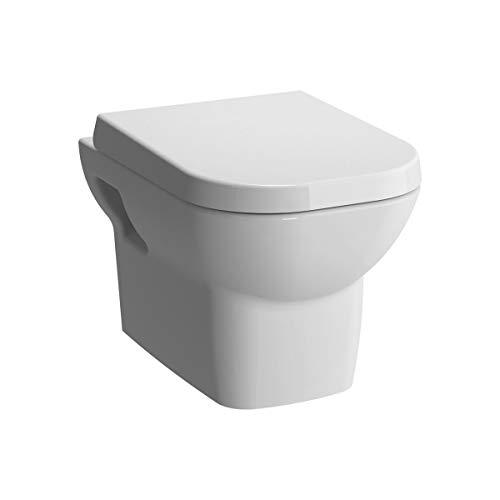 Vitra Retro spülrandlos mit Bidetfunktion, Taharet, Taharat Dusch WC inkl. Softclose WC-Sitz inkl. Schallschutz, inkl. Anschlussgarnitur Komplett - Tiefspüler