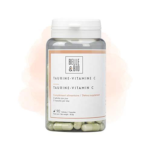 Belle&Bio Taurine/Vitamine C Anti-Fatigue Fabriqué en France