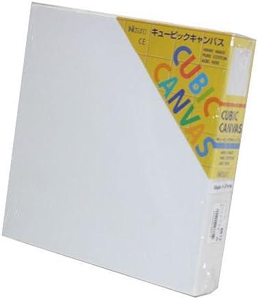 那須野キュービックキャンバス 20×20cm 白