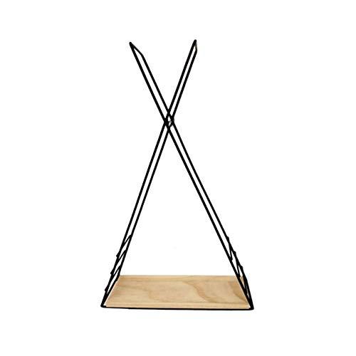 HJW Praktische opbergrek driehoek drijvende plank gereedschap & amp; Home Improvement Wandplank Display Opbergrek voor Keuken Slaapkamer Badkamer 1Huiyang-01020, Zwart
