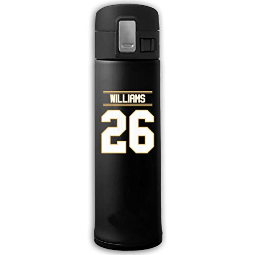 Top Wholesale Williams 26 Travel Mok Roestvrij staal Thermische Mok Vacuum Flask Lekproof Koffiemok met BPA-vrij Easy Clean deksel Keeps Cold Or Hot