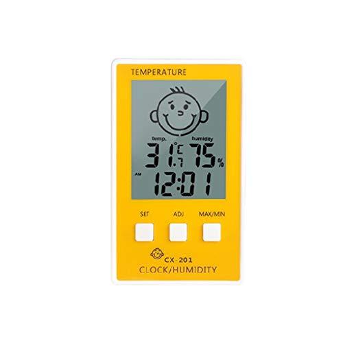 ZChun Elektronische thermometer, schattige patroonthermometer en hygrometer digitale thermometer