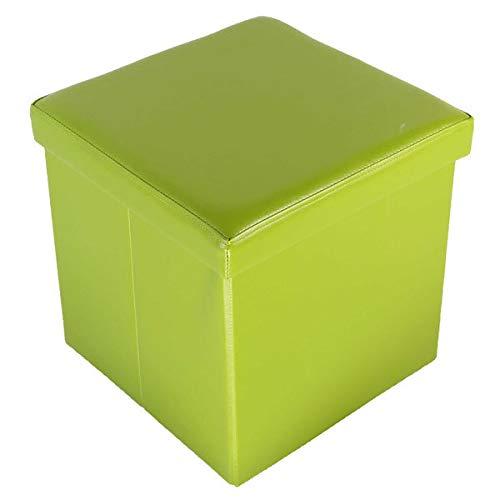 Echtwerk Sitzwürfel/Aufbewahrungsbox 'StoreCube', Farbe:Grün