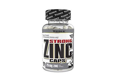 Weider Strong Zinc 25 mg 120 Gélules