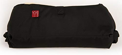 Kaiser Handwärmer mit Lammfell, schwarz