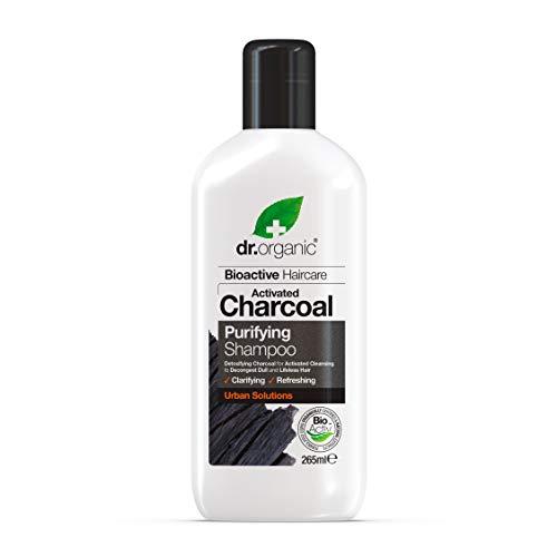 Dr. Organic Shampoo Purificante al Carbone Attivo