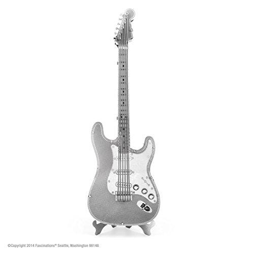 Metal Earth Lead Guitar Maqueta guitarra eléctrica, color plata (Fascinations MMS074) , color/modelo surtido