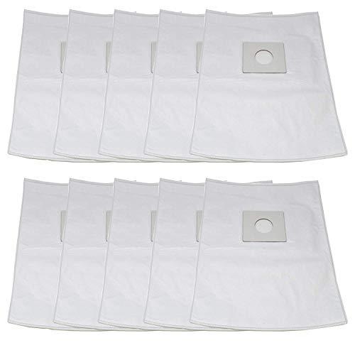 Sharp Type PU-2 MicroFiltration Premium Upright HEPA Cloth Vacuum Bags with Closure; Fits All Sharp Upright Vacuums; Similar to Part# EC-03PU2, EC03PU2, ECTU5907, ECTU5909 by ZVac (10)