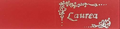 Cartotecnica Italiana 100 Pz Bigliettini Bomboniera Laurea, Stampa Color Oro impaginati in Formato A4