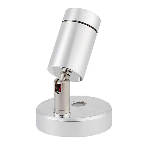 Lámpara para barco, lámpara de lectura marina de carga USB 12V 160LM resistente a la corrosión para cabecera para barco
