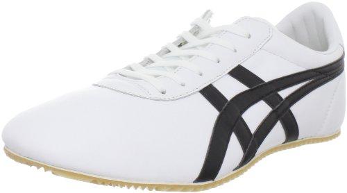 Onitsuka Tiger Tai Chi Fashion Sneaker,White/Black,13.5 M US Women's/12 M US Men's