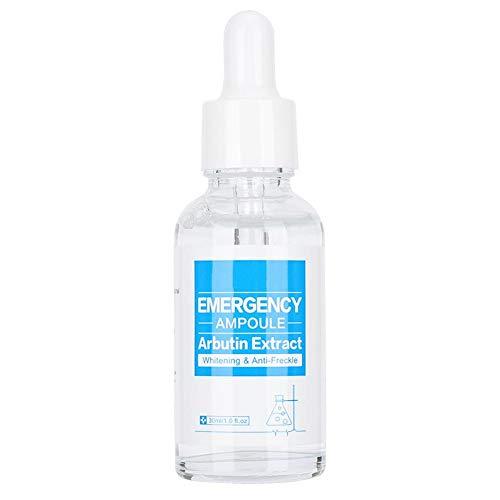 Extracto de Arbutina Suero Hidratante Antiarrugas Reparador de la Piel Extracto Para el Cuidado de la Piel 30 ml, Aclarante