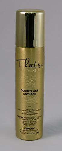 That´So - Golden Age Spray Antienvejecimiento con Bronceado Ligero 2% Dha, 75 ml