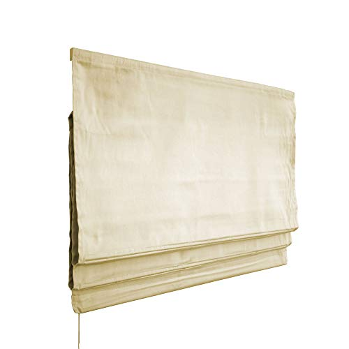 Victoria M. Estor Plegable, Cortina Plegable paqueto 80 x 175 cm, Color: Crema
