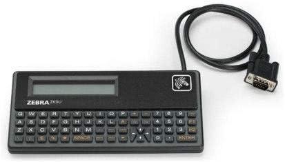 Zebra Keyboard display unit ZKDU 120181- QWERTY High quality new Compact keys 62 2021