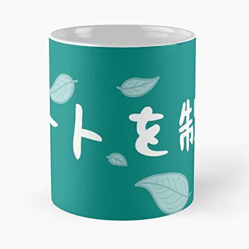Desconocido High Fly Shoyo Hinata Nishinoya Yu To The Top Karasuno Kageyama Banner Haikyuu Tobio Best Mug Holds Hand 11oz Made from White Marble Ceramic