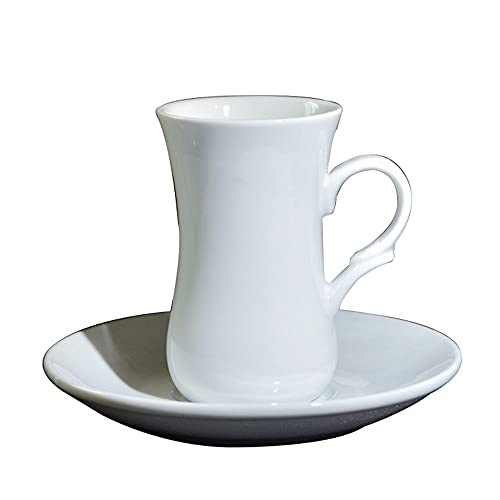SXXYTCWL Tazas de café Tarde de cerámica Utensilios de té para el hogar Latte Espresso Taza 100ml Taza de Agua Colgando Oído Taza de café Adecuado para Office Cafe Restaurant