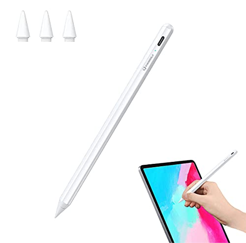Energsolo Stylus Pen for iPad with Palm Rejection,Tilt, for iPad Air 3rd/4th Gen iPad (2018-2020) iPad Pro 2018-2021 (11/12.9 inch), iPad 6th-8th Gen, Ipad Mini 5 Magnetic Design