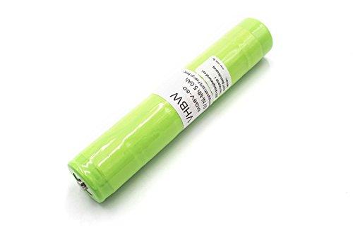 vhbw Batterie NiMH 5000mAh (6V) compatibile avec GE 40070149, 41B038AF00101 lampe de poche remplace 20170, 108-000-439, ET2600D.