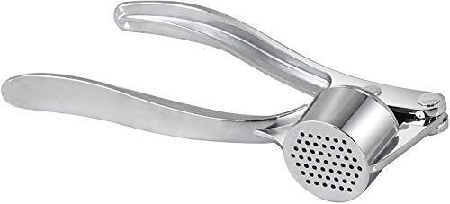 Prensador de ajos de mano profesional de acero inoxidable, ideal para restaurante u hogar