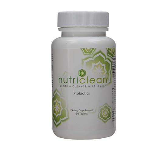 NutriClean Probiotics, Detox, Cleanse, Maintain Optimal Bacterial Balance, Strong Immune System, Promotes Colon Health, Healthy Teeth, Healthy Upper Digestive Tract, Market America (30 Servings)