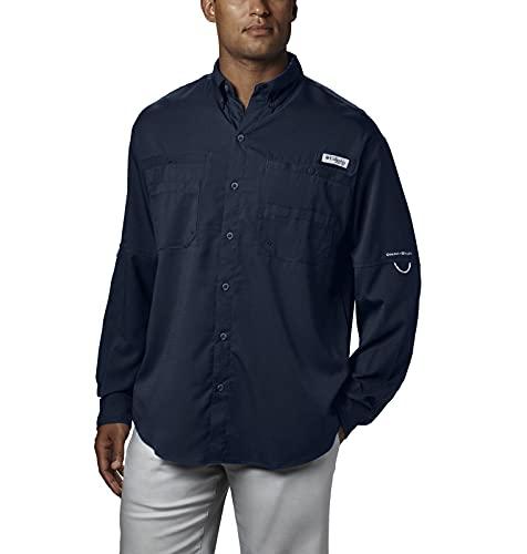 Columbia Camisa de Manga Larga Tamiami II para Hombre, Talla Grande