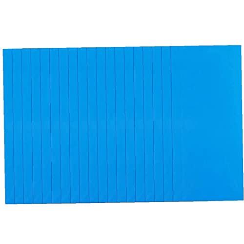 Hotaden PVC de reparación Parches, 20PCS Piscina Parches Kit, Kit de reparación Impermeable Autoadhesivo, Parches de reparación inflables para la Piscina