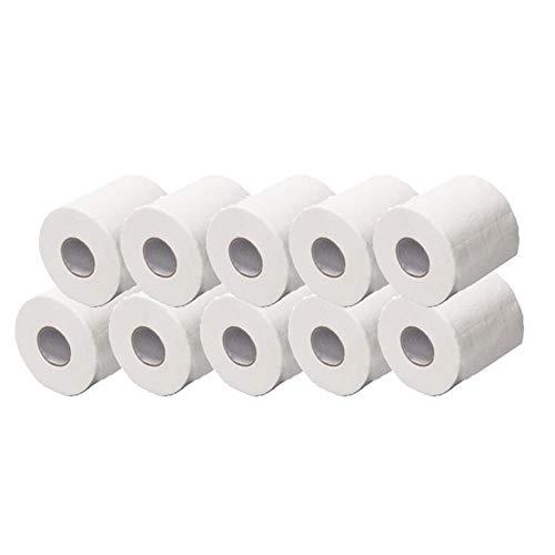 Wit broodje van toiletpapier vervangende kaart trekken 3ply papierdikte 12st / zak kan voorkomen dat het reinigen van wc-papier beveiliging Flu