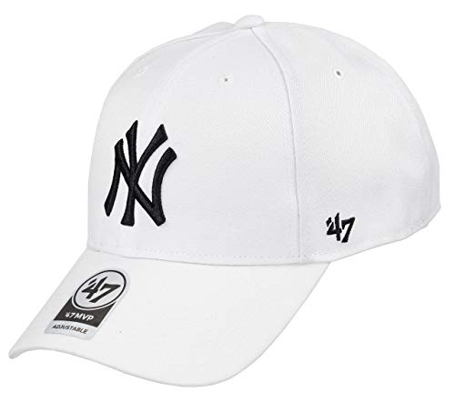 NEW YORK YANKEES - Gorra '47 para Hombre B-MVPSP17WBP WH, Color Blanco,...