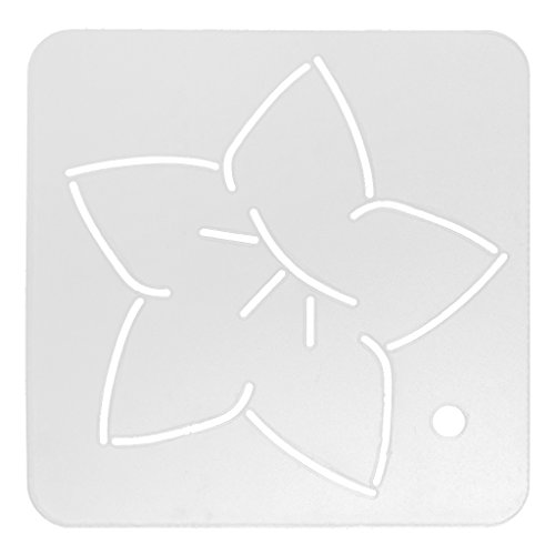 Jili Online Plastic Embroidery Template Quilting Stencils Patchwork Handmade Tools DIY 12#