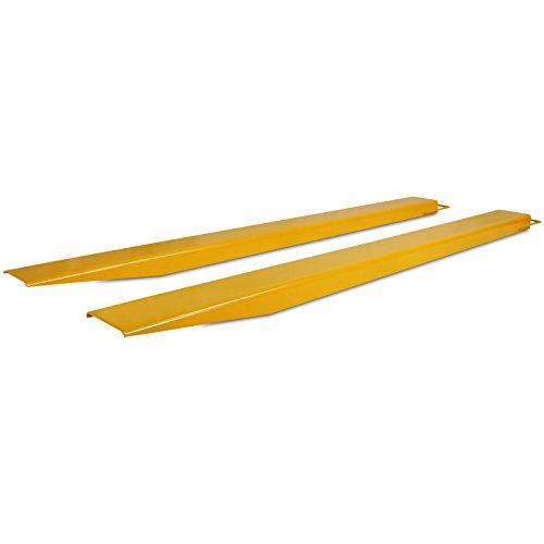 VEVOR 84 x 6,5 Zoll Gabelverlängerung Stapler Gabelverlängerung für Gabelstapler Gabeln Gabelstapler Länge