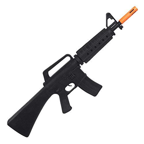 Boland 00437 00437-SWAT - Arma de juguete, longitud de rifle de juguete, plstico, Special Force, soldado, carnaval, Halloween, fiesta temtica, nios, unisex, 62 cm, color negro