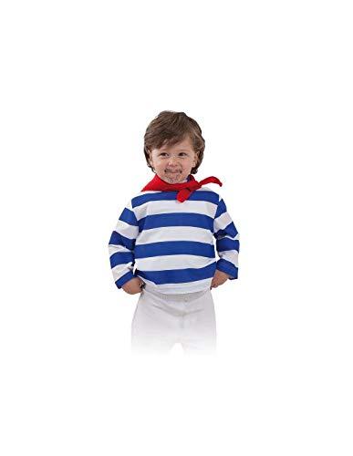 DISBACANAL Camiseta gondolero Infantil - -, 6 años