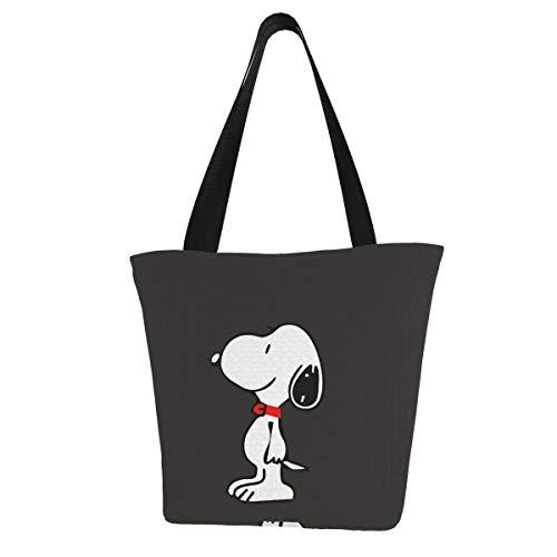 Dessin animé Snoopy Femmes Multifonction Grande Capacité Sac à Bandoulière Sac Shopping Sac à Main Sac à Main de Plage Sac d'ordinateur Portable Sac de Tablette