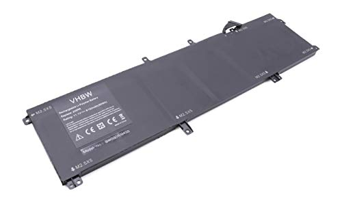 vhbw Li-Polymer Batterie 8100mAh (11.1V) pour Ordinateur Portable, Notebook Dell XPS 15 9530, Precision M2800, M3800 comme 0H76MY, 245RR, 7D1WJ.