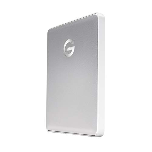 G-TechnologyポータブルHDD2TBシルバーG-DRIVEMobileUSB-C3年保証0G10339