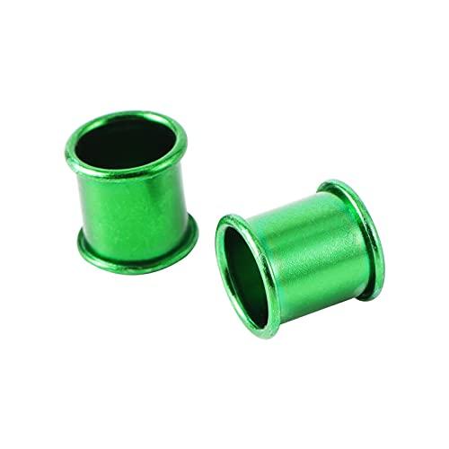 WCNMB Vogelfußring 1000 stücke Aluminium Taube Ring 7mm Vogel Fuß Ring Ldentification Rennen Tauben Ring Training Vogel Fuß Ring 5 Farben Bequem und langlebig (Color : Green)