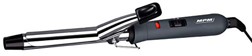 MPM Rizador de pelo eléctrico 19mm con regulador de temperatura placas de...