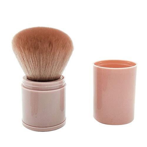 12shage Professional Makeup Brush Outils de maquillage de beauté télescopiques portatifs simples de maquillage de beauté de peinture de poudre de miel de blush