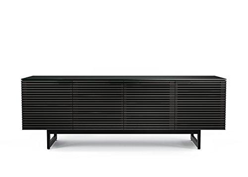 BDI Furniture Corridor Quad Cabinet, Charcoal