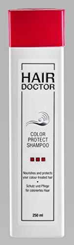 HAIR DOCTOR - COLOR PROTECT SHAMPOO - Professionelles Shampoo für gefärbte Haare pflegend mit Mango Kern-Öl 250ml